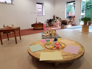 Images of our adventurers room for our 3 to 5 year olds